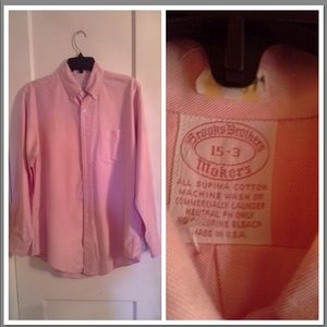 BROOKS BROTHERS VINTAGE BUTTON DOWN SUPIMA COTTON
